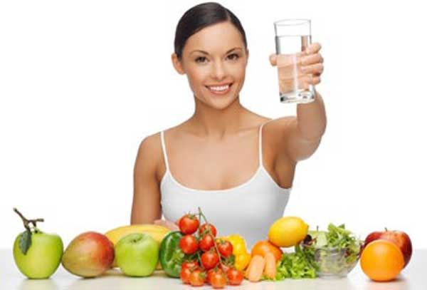 Eat-Healthily-and-Drink-as-a-Lot-Water-as-Possible